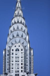 Le Chrysler Building à New York.